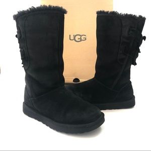 Women's UGG Tall Allegra Bow Boots